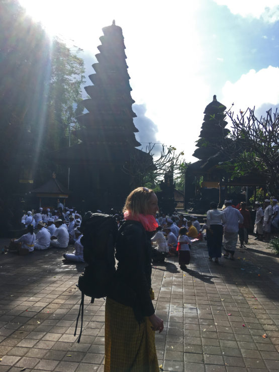 tourist goa lawah temple east bali indonesia